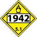 DOT Placard - 1942 5.1