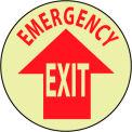 Glow Floor Sign - Emergency Exit