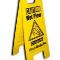 Heavy Duty Floor Stand - attention sol humide - bilingue