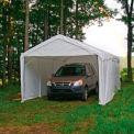 "Super shelterlogic Max™ Canopy avec 2-en-1 Kit de Encl 23572, W 10' X 20' L, 2"" Frame, 8-jambe, blanc"