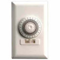 NSI TORK® 701B 24 Hour Wall Switch Timer, 20A, 125V, White, SPST, 30 Minute Tabs, Single Gang