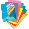 "Pacon® Array Heavyweight Card Stock Paper, 8-1/2"" x 11"", 65 lb, Assorted, 100 Sheets/Pack"