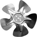 "Small Hubless Fan Blade, 6"" Dia., 21° Pitch, CW, 1-1/8"" Blade Depth, 4 Blade"