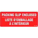 "Packing Slip Enclosed Shipping Label -  5"" X 2"" - Bilingual"