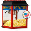 Machine à pop-corn Antique rouge Paragon 1104110 4 oz rouge 120V 1100W