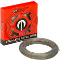 """0.016"""" Diameter Stainless Steel Wire, 1 Pound Coil"""