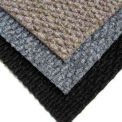 "Berber Polypropylene Carpet Tiles, 19-11/16""L X 19-11/16""W, 1/2"" H, Blue Gray"