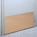 """Plaque de protection faite de. 040"""" feuille de PVC, 12"""" x 48"""", gris"""