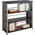 Mayline® - Safco® Scoot™ 3 Shelf Bookcase, Black