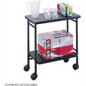 Safco 8965BL - Folding Beverage Cart