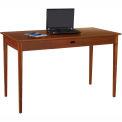 Après™ Table bureau merisier