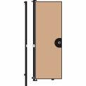 Screenflex 8'H Door - Mounted to End of Room Divider - Desert