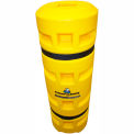 """Column Sentry® Column Protector, 6""""x 6"""" Square Opening, 24"""" O.D. x 42""""H, Yellow"""