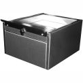 """Shuresafe Duo-Drawer 670145 w/Sliding Deal Tray, 10""""H For 4-1/2"""" Thick Wall, UL Bullet Resistant"""