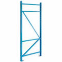 "SK3000® Structural Channel Pallet Rack - 48""D X 144""H Upright"