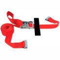 "Snap-Loc® SLTE216RRI E-Strap 2 ""X 16' Rochet rouge (Import) avec crochet & stockage Velcro"