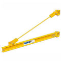 1/2 Ton, 8' span, Spanco 301 Series, Steel, Wall Mounted, Wall Bracket, Jib Crane, Tie Rod Design