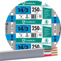 Southwire 13057555 UF-B Underground Feeder Cable, 14/3 AWG, 250 ft