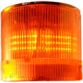 Springer Controls / Texelco LA-2315 70mm Stack Light, Flashing, 120V AC/DC BULB - Amber