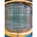 "Southern Wire® 250' 1/16"" Diameter Vinyl Coated 1/8"" Diameter 7x7 Galvanized Aircraft Cable"