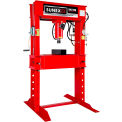 Sunex Tools 57100AH - 100 Ton Air/Hydraulic Shop Press - Fully Welded - Made in USA