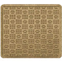 "Waterhog Cargo Mats with PawPrint Pattern, 31"" x 27"", Camel - 3907500003070"
