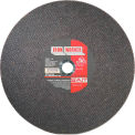 "Cut Off Wheel Type 1 Ironworker 12"" x 3/32"" x 1"" Aluminum Oxide - United Abrasives - Sait 24031 - Pkg Qty 10"