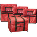"""Update International Insulated Pizza Delivery Bag - 18"""" - Pkg Qty 6"""