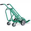 Valley Craft® 4-Wheel Deep Pallet Steel Hand Truck F84813A6 - Solid Tires