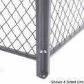 Husky Rack & Wire Channel Post Stiffener 10' Tall