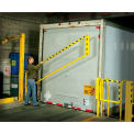 Wildeck® EdgeGard™ 8' Rail droit Dock Gate, WG-ESR-8