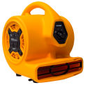 XPOWER 1/5HP Multi-Purpose Mini Mighty Air Mover w/ Built in Power Outlet, 800 CFM - P-130A