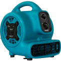 XPOWER Mini Air Mover w/guirlande & apres 3 heure, 4 Positions 3 vitesses 1/5 HP - P-230AT-Bl
