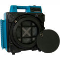 XPOWER Mini Air Scrubber with Commercial, 3 Stage Filtration HEPA Purifier System - X-2480A-Blue