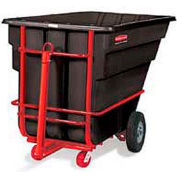 Rubbermaid® 1026-41 1-1/2 Cubic Yard Towable Plastic Tilt Truck