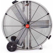 """Shop-Vac® Industrial Drum Fan 1180200,36"""" Dia., 1/2HP, Direct Drive, 11,000CFM,Stainless Steel"""