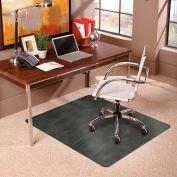 ES Robbins® Trendsetter Chair Mat for Medium Pile Carpet - 36» x 48» - Pewter