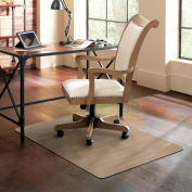 ES Robbins® Trendsetter Chair Mat for Hard Floors - 36 » x 48 » - Driftwood