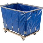 Dandux Vinyl Basket Bulk Truck 400720G24U-4S 24 Bushel - Blue