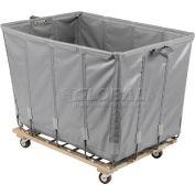 Dandux Vinyl Basket Bulk Truck 400720G24A-4S 24 Bushel - Gray
