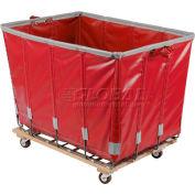 Dandux Vinyl Basket Bulk Truck 400720G10R-3S 10 Bushel - Red