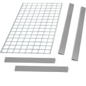 "Global Industrial™ Bulk Rack Shelf Wire Deck 36""W x 12""D - Gris"