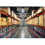 """Husky Rack & Wire Teardrop Pallet Rack Add-On - No Deck - 120""""W x 48""""D x 120""""H"""