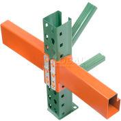 "Husky Rack & Wire Pallet Rack Teardrop Beam - 96""L, 4,190 Cap Per/Pair (2 PCS)"