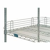"Nexel®, Nexelate® Silver Epoxy Wire Ledge, 24""W x 4""H"