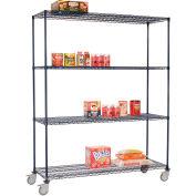 Nexelon™ Wire Shelf Truck 72x18x80 1200 Lb. Capacity