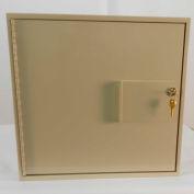 """Fenco Banking Vault & Safe Interiors 1 Compartment 2301-17-I - 16-1/4""""W x 17""""D x 15-11/16""""H Gray"""