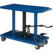 Global Industrial™ Work Positioning Post Lift Table Foot Control 1000 Lb. Cap. Plate-forme 36x18