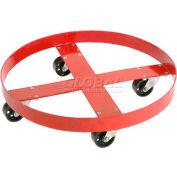 Global Industrial™ Drum Dolly for 55 Gallon Drum - Steel Wheels 1000 Lb. Capacité