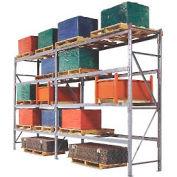 """Pallet Rack Upright Frame - 4"""" Channel 36""""D x 192""""H"""